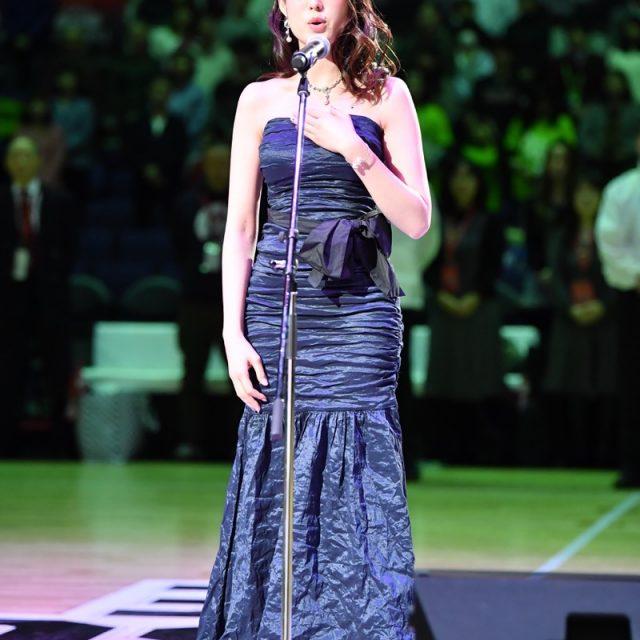 日本国国歌独唱 渡邊 優香さん