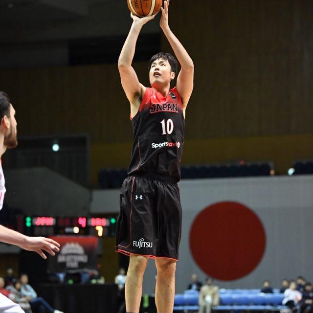 #10 竹内 公輔選手(栃木ブレックス)のジャンプシュート